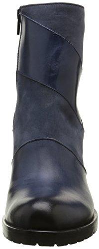 Donna Piu 9908 Gabriella, Bottes Classiques Femme Bleu (Tequila Blu/Nabuk Blu)