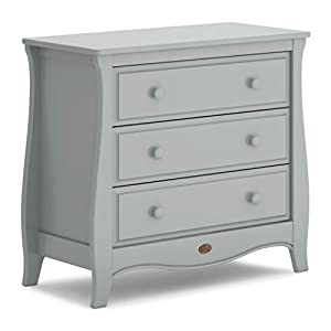 Boori Sleigh 3 Drawer Chest, Pebble   8