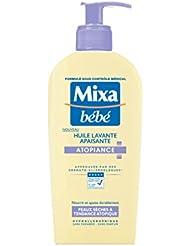 MIXA Bébé Huile Lavant Apaisante Atopiance pour Peaux Sèches à Tendance Atopique 250 ml