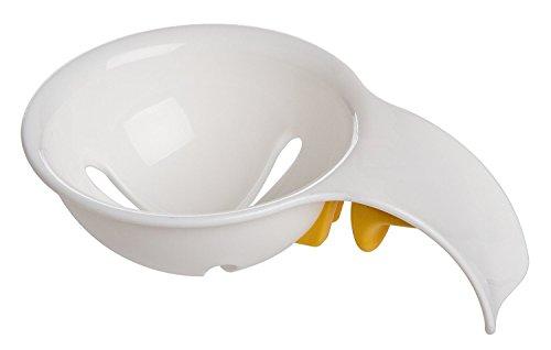 longxi Mini Eigelb Weiß Separator mit Halterung aus Silikon–Kunststoff abs-egg weiß und Eigelb Trenner