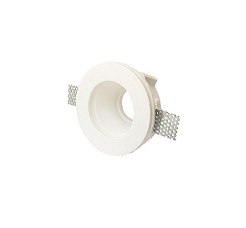 lineteckledr-e1100209-portafaretto-a-incasso-rotondo-a-scomparsa-in-gesso-ceramico-verniciabile-con-