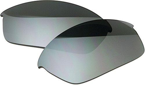 Zero Ersatzgläser für Oakley Flak Jacket Sonnenbrille, zrl-fj-sltm, Schwarz, zrl-fj-sltm