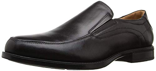 Florsheim Men?s, Midtown Moc Toe Slip on Shoes Black 7 D -