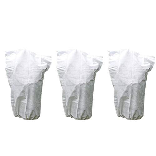 OUNONA Schutzhülle für Pflanzen, Blume, Pflanze, Garten, Gewächshaus, Winter, 3 Stück, 60 x 110 cm (weiß)
