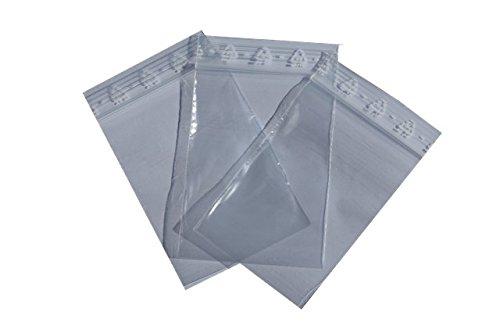 100 buste ermetiche 350 x 450 mm borsa con chiusura scorrimento sacchetto chiusura lampo sacchetti tenuta pressione zip 60 mµ