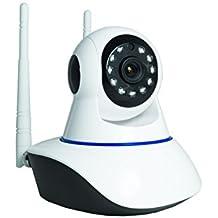 Telecamera IP Camera HD 720p Wireless LED IR LAN motorizzata wifi rete (Sicurezza e sistemi di sorveglianza)