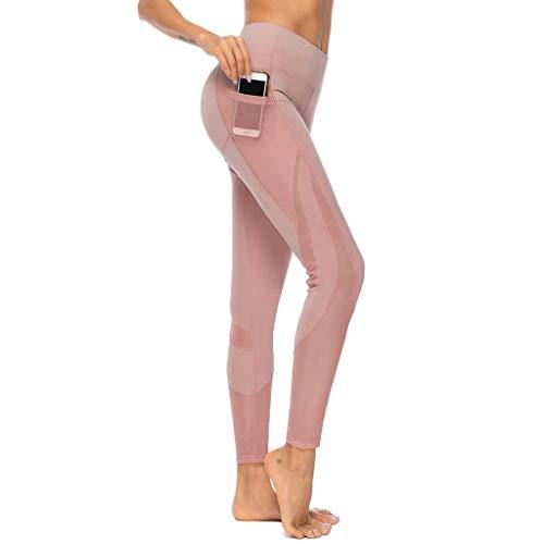 Pantalones Yoga Mujeres Mallas Deportivas Mujer Leggings Mujer Deporte Pantalones Fitness Mujer Gym...