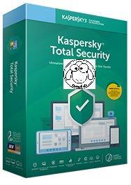 Kaspersky Total Security 1 Jahr Standard + Ebook von Sheepsoft , 1 Gerät