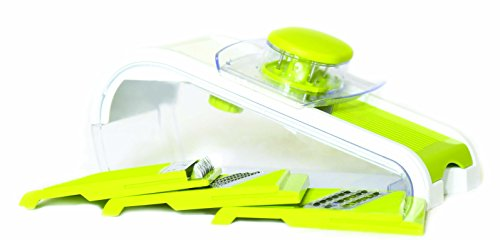 Slice It(TM), The Express Mandoline Slicer. New 2015 Model! 8 Function Slicer Set. 4 Interchangeable Blades Included.