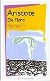 Aristote - De l me - GF/FLAMMARION/LIVRE DE POCHE - 01/01/1993