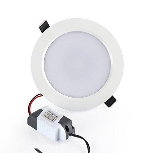 Esbaybulbs RGB Lámpara empotrada redondo Downlight LED Empotrable en Techo,16 color 4...