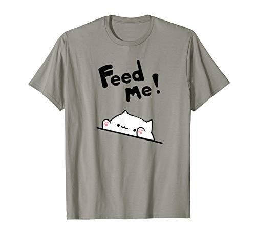 ursprünglicher Bongokatze eine sehr hungrige Miezekatze T-Shirt