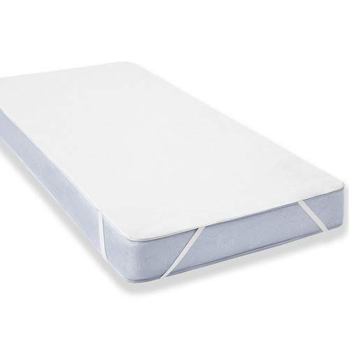 Uniento coprimaterasso impermeabile, 60 x 120 cm, proteggi materasso traspirante, anallergico, antiacari - copri materassi con trattamento nuova generazione - 5 anni di garanzia (60 x 120 cm)