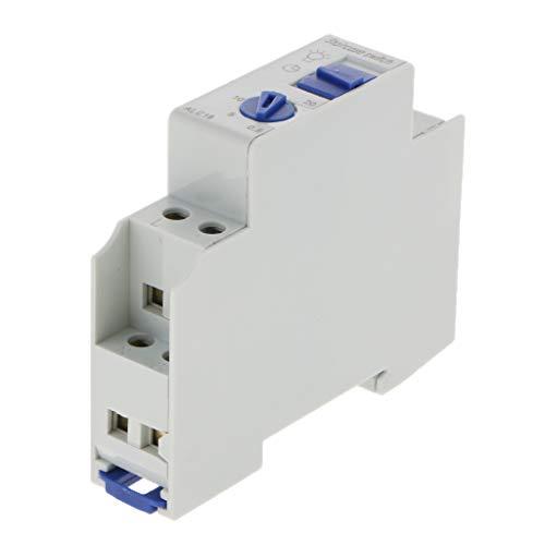 SM SunniMix 220-240 V 16A Temporizzatore Automatico con Scala Guida DIN Plastica