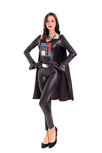 Star Wars kostüm Damen Weiblich Star Wars Black Warrior Dasvi COS Jedi Knights Costume (Star Wars Jedi Knight Kostüm)