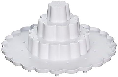 Nordic Ware Présentoir à gâteau POP affichage Support, Blanc