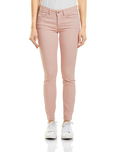 Street One Damen Slim Jeans 371237 York Rosa (Clean Pale Rose Wash 11324) W25/L30