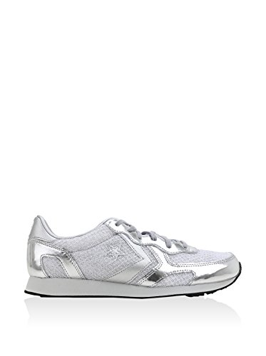 Converse - Auckland Racer Ox, Sneaker Donna Silver/Silver/White