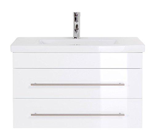 Emotion Meuble salle de bain Mars 800 SlimLine blanc brillant