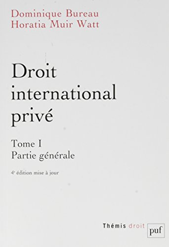 Droit international privé par Dominique Bureau