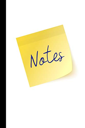 Notes: Sticky Note 150 Page College Ruled Lined Notebook or Journal for All Your Notes, Ideas, Lists, Tasks, and Other Stuff.