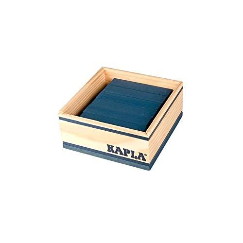 Kapla - 40 planchettes - Couleur : Bleu Foncé