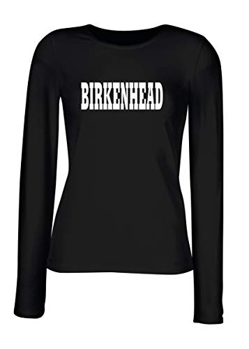 T-Shirt Langer Armel Frauen Schwarz WC0768 Birkenhead
