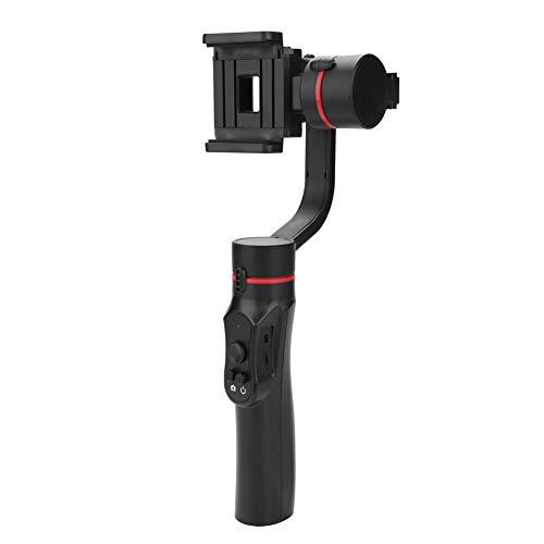 Stabilizzatore cardanico palmare 3 assi Stabilizzatore maniglia per smartphone Supporto del telefono Selfie Stick per iPhone X / 8 Plus / 7 / SE