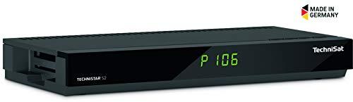 TechniSat Technistar S2 HD Sat Receiver (DVB-S2, HDTV, PVR Aufnahmefunktion, CI+, USB 2.0, HDMI, Scart) schwarz
