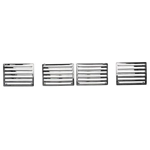 autostyle-rejilla-de-ventilacion-para-peugeot-307-cromo-4-piezas