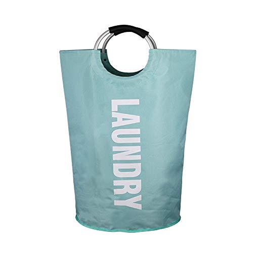 YUUWO Spielzeugkorb,Aufbewahrungstasche Für Schmutzige Kleidung, Wäschebeutel Aus Oxford-Stoff, Wäschekorb, Faltbare Aufbewahrungstasche@D_38 * 72 cm