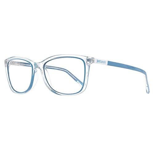 Just Cavalli Unisex-Erwachsene Brille JC0530 026 56 Brillengestelle, Blau,