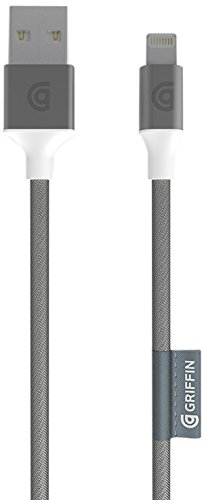 griffin-gc40902-cable-lightning-usb-pour-iphone-ipad-ipod-argent