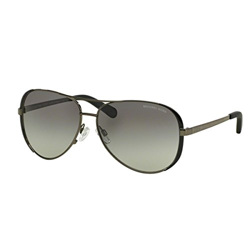 Michael Kors Damen Chelsea MK5004 Sonnenbrille, (schwarz-grau verlauf 101311), Large (Herstellergröße: 59)