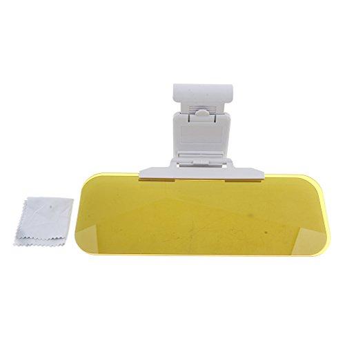 Homyl Sonnen Blendschutz Auto: Tag- & Nacht-Blendschutz für die Auto-Sonnenblende, 32 x 13 cm (Tag- und Nacht Autoblendschutz)