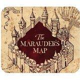 Harry Potter el mapa del merodeador oficina personalizada Rectángulo Mousepad de goma antideslizante alfombrilla de ratón