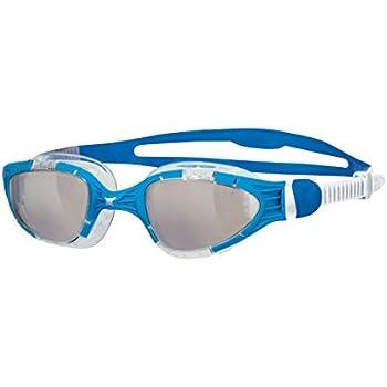 Zoggs Aqua-Flex Titanium Quick Adjust Swimming Goggles with UV Protection-Green