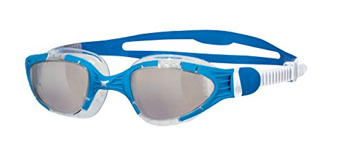 Zoggs Aqua Flex Schwimmbrille, Blue/White/Clear, One Size
