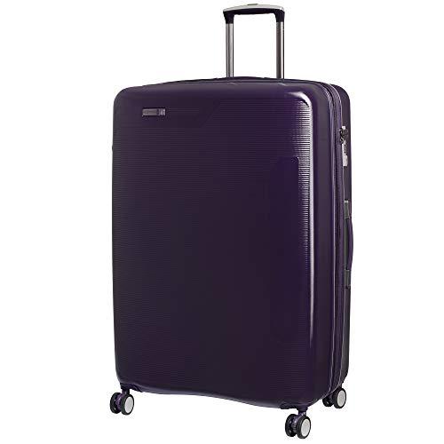 it luggage Signature 8 Wheel Hard Shell Single Expander Suitcase Large with TSA lock Valigia, 79 cm, 148 liters, Viola (Purple)