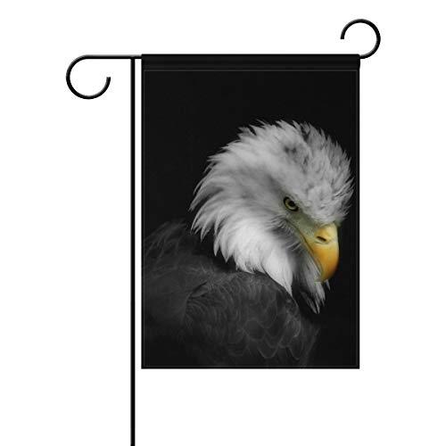 FAJRO Flagge, Adler, Gartenflagge, doppelseitig, Polyester, 1, 28x40(in)