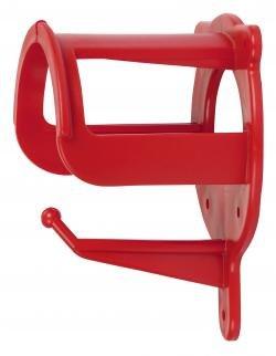 Kerbl Trensenhalter Kunststoff, rot