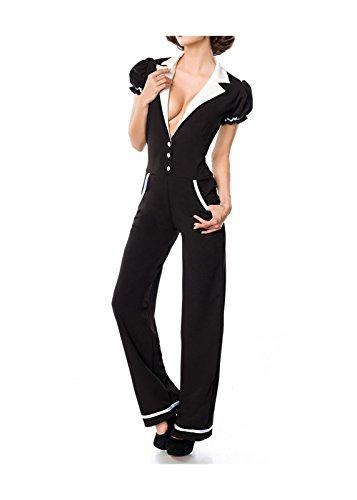Belsira Damen Overall im Retro-Style S