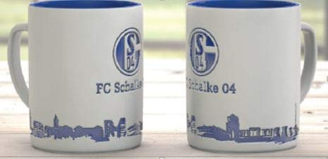 FC Schalke 04 Taza de café Skyline
