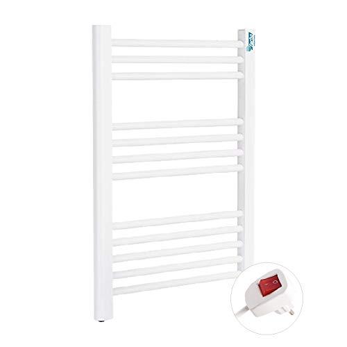 Badheizkörper Elektrisch - Handtuchtrockner Farho NOVA SMALL Weiß 350 W (700 x 500 mm)