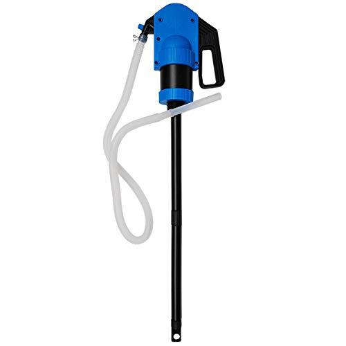 Preisvergleich Produktbild Helo 'SRL 1000' AD-Blue Hand Hebelpumpe Fasspumpe mit ca. 50l / Min Förderleistung (0, 5l / Hub),  für Adblue und Andere Chemikalien,  Handpumpe mit 1000 mm Saugrohr und 2 m Abgabeschlauch