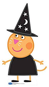 Star Cutouts SC1277 - Cortador de cartón oficial para dulces y gatos (Peppa Pig Party Halloween, 94 cm de alto, multicolor