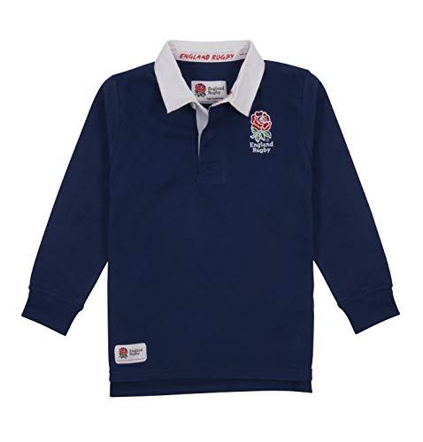 England rugby - maglia da rugby per bambini, bambino, rfucl1801nj, marina militare, 9/10