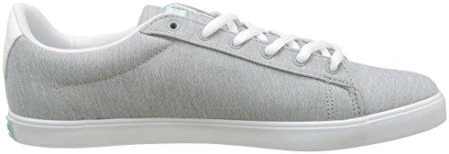 Le Coq Sportif Damen Agate Lo Tech Jersey Sneaker Gris (Gris Limestone/Aruba Blue)