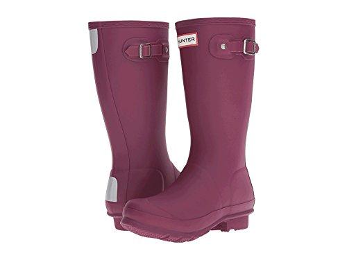 Hunter Original Kids Junior Pale Mint Rubber Wellingtons Boots Violet vif