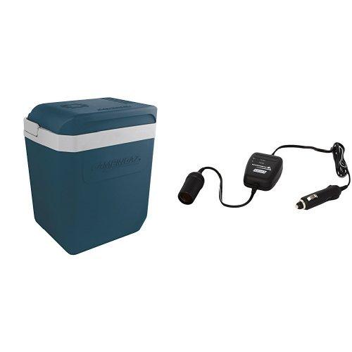 Campingaz Set: Thermoelektrische Kühlbox, Powerbox, 24 Liter (44 x 31 x 41 cm) + Batteriewächter (zum Schutz vor leerer Autobatterie)